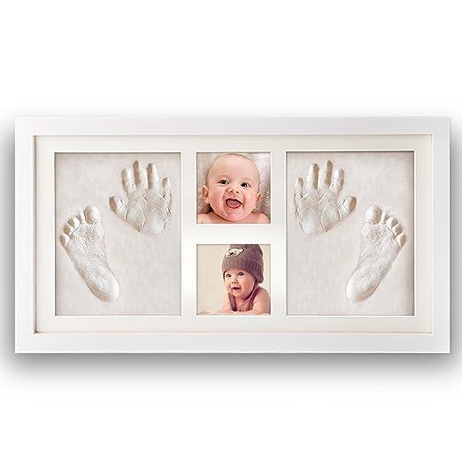 51 opinioni per [Versione aggiornata] Impronta bambino, Pootack cornice impronta neonato con
