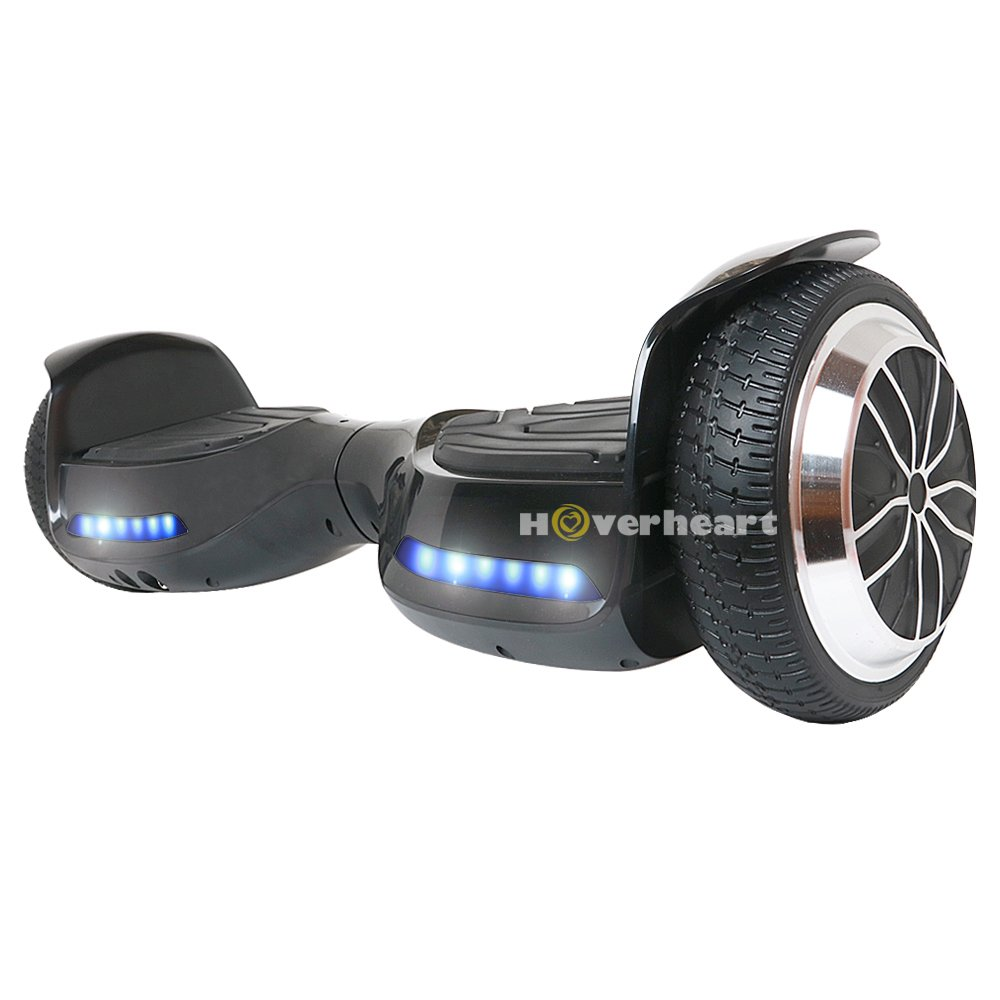 Hoverboard 6.5'' UL 2272 Listed Two-Wheel Self Balancing Electric Scooter with Bluetooth Speaker (Black)