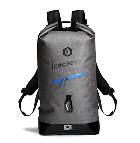 2617bda24d Waterproof TPU Backpack Dry Bag- Roll-Top Closure and Cushioned Padded Back  Panel