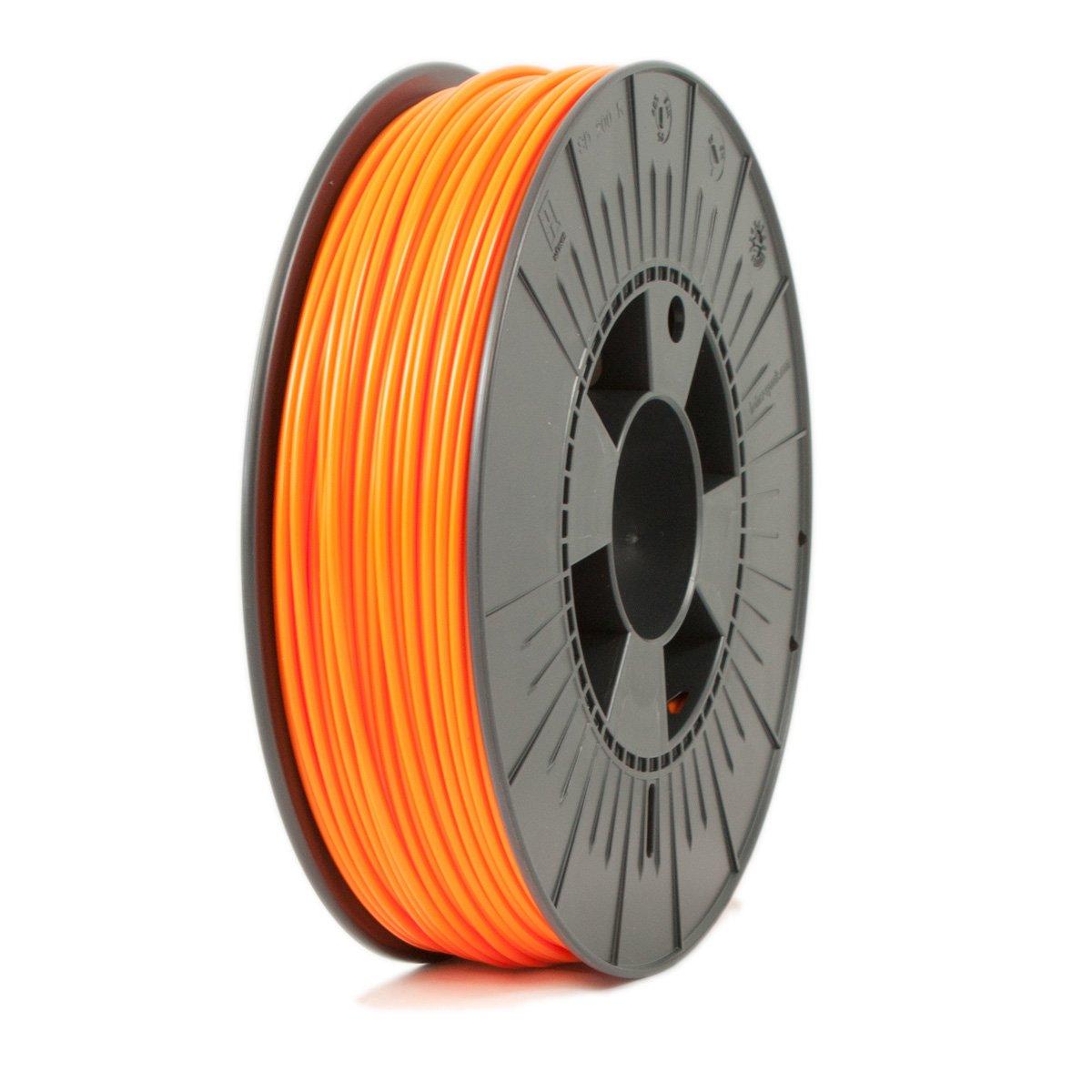 Ice Filaments ICEFIL3PLA129 Filamento PLA, 2,85 mm, 0,75 kg, Naranja
