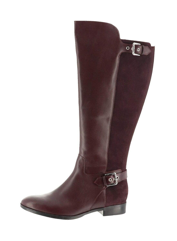 fde5b5f34d1 Amazon.com   Marc Fisher Wide Calf Tall Shaft Leather Boots Damsel ...