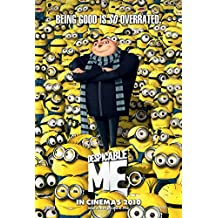 DESPICABLE ME MOVIE POSTER 2 Sided ORIGINAL VERY RARE Version B 27x40 STEVE CARELL
