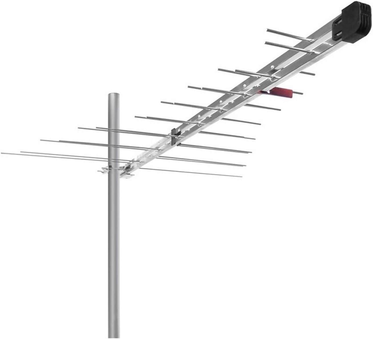 Antena LTE libre digital terrestre 30 elementos con filtro Stub ...