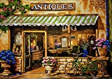 "Needlepoint Kit ""Antiques"" 19.7""x15.7"" (50x40cm.) printed canvas 518"
