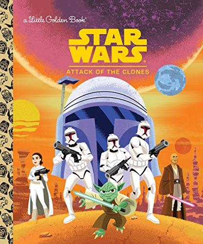 Star Wars: Attack of the Clones (Star Wars) (Little Golden Book)