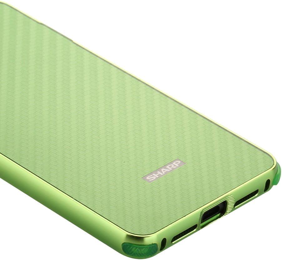 zl one Carcasa para Sharp Aquos S2 Funda Aluminio Metal+Fibra de ...