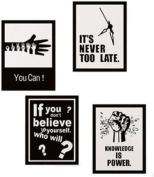 Amazon.com: Escuela de Arte Oficina Aula Inspiración Pared ...
