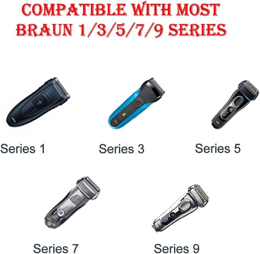 YIKU - Cargador de afeitadora eléctrica (12 V, 0,4 A, para Braun ...