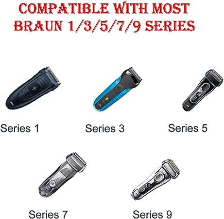 YIKU - Cargador de afeitadora eléctrica (12 V, 0,4 A, para Braun Shaver Series 1, Series 3, Series 5, Series 7, Series 9; 3040s 310s 340S 3050cc; 5190cc 5030s 5040s; 740S 7865cc; 9290cc 9095cc: Amazon.es: Electrónica