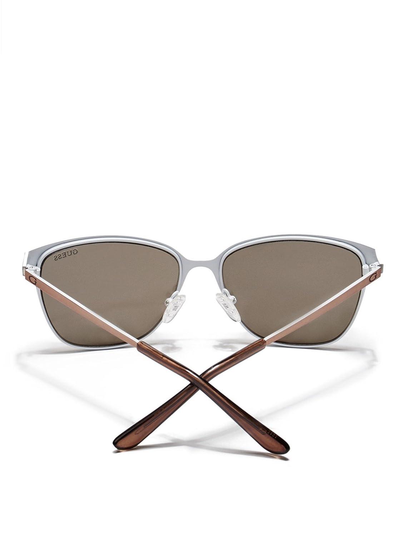 GUESS Women's Retro Metal Sunglasses