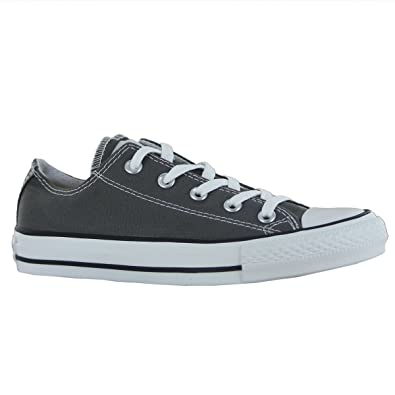 7bbe52a4bd2446 Image Unavailable. Image not available for. Color  Converse All Star  Specialty OX Charcoal Womens Trainers Size 9 US