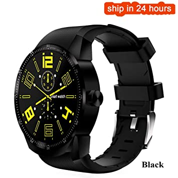 FANZIFAN Reloj Inteligente 3G Smart Watch Men Android 4.1 ...