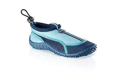 Fashy Enfants Outdoor de Sport et schwimmschuhe Aqua Chaussures en néoprène  et Mesh avec semelle TPR