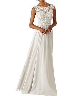 8821bcb9236 RJOAMEUDRESS Frauen Chiffon Brautjungfer Kleider Sleeveless Lange Prom  Abendkleider