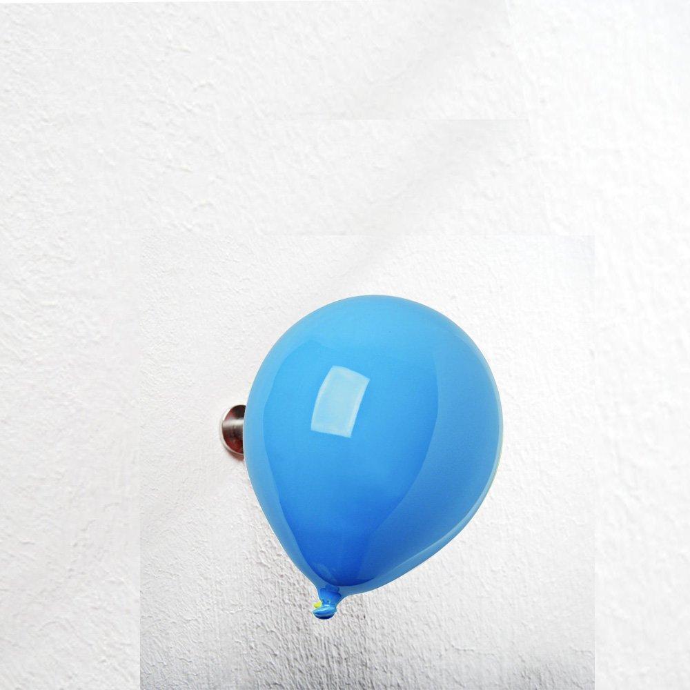 creativando Appendiabiti Ceramica Mini Balloon Azzurro