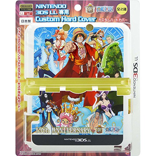 Colorful Dance Costume And Setting (Nintendo 3DS XL - One Piece 15th Anniversary Custom Hard Cover - Blue)