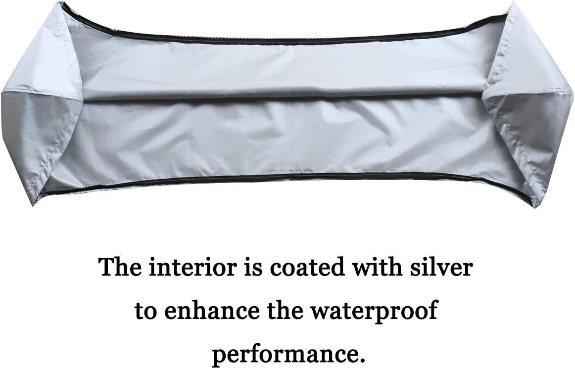 pour pr/évenir efficacement l/érosion des UV coffre de rangement. de leau de mer et de la brise marine en /ét/é Convient pour 3-4 n/œuds Bimini Tops auvent Bimini HALOKETI Bimini