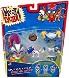 Jakks Pacific Mucha Lucha! Mix-A-Lot Buena Girl and Penny Plutonium Action Figures 2 Pack