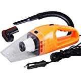 Car Vacuum Cleaner High Power Wet Dry Dust Buster Hand Vac Pet Hair Remover Crumbs Cleaner 120W 4000PA with 3.8 Meter Cable 12V