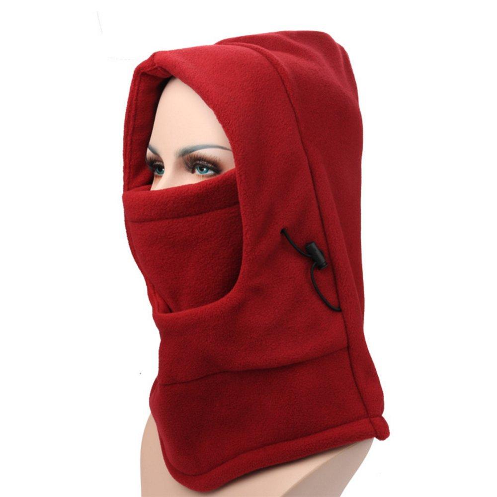 Tactical Balaclava Outdoor Sports Mask,Windproof Ski Face Mask,Fleece Balaclava Hooded Face Mask Neck Warmer Ski & Snowboard Mask,for Outdoor Sports Skiing, Bike, Cycling, Hiking, Motorcycle ezyoutdoor