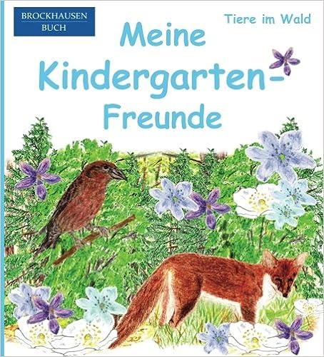 BROCKHAUSEN: Meine Kindergarten-Freunde: Tiere im Wald - Freundebuch für Mädchen: Volume 31