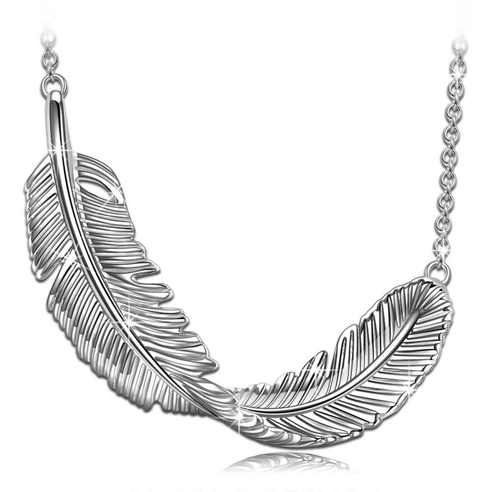 PN PRINCESS NINA Women Jewelry Her Birthday Gift Wife Sterling Silver Pendant Necklace Teen Girl Minimalist Fine Jewelry