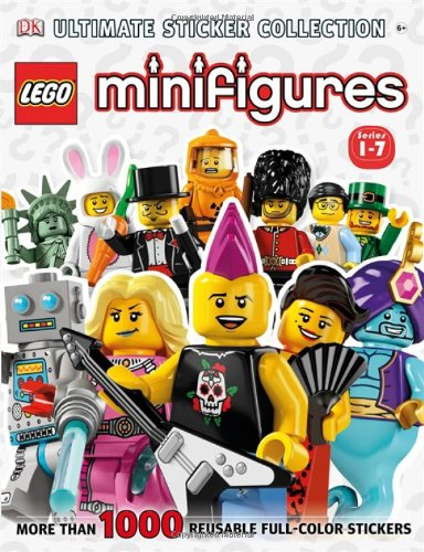 Ultimate Sticker Collection: LEGO Minifigures (Series 1-7) (Ultimate Sticker Collections)