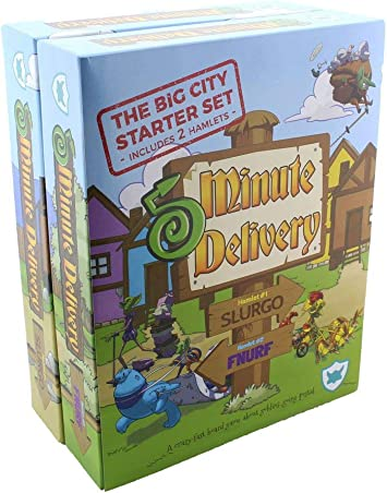 Juego de mesa familiar de cinco minutos de entrega: Big City Set (perfecto para niños y niñas – Edades 6 y más): Amazon.es: Juguetes y juegos