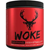 Bucked Up - Woke - HIGH STIM Pre Workout - Best Tasting - Focus Nootropic, Pump, Strength and Growth, 30 Servings (Strawberry