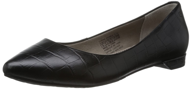 Abril shoes BailarinasCueroNegro 6WlTxgA
