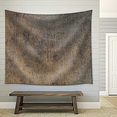 With Expert Quality, Stunning Picture, Rusty Iron Plate Textured Fabric Wall