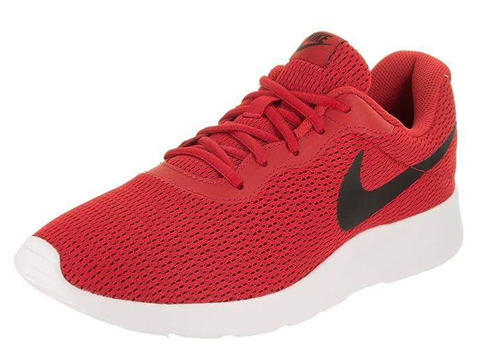 Nike Tanjun Herrenschuh rot mit schwarzem Streifen (University Red/Black)