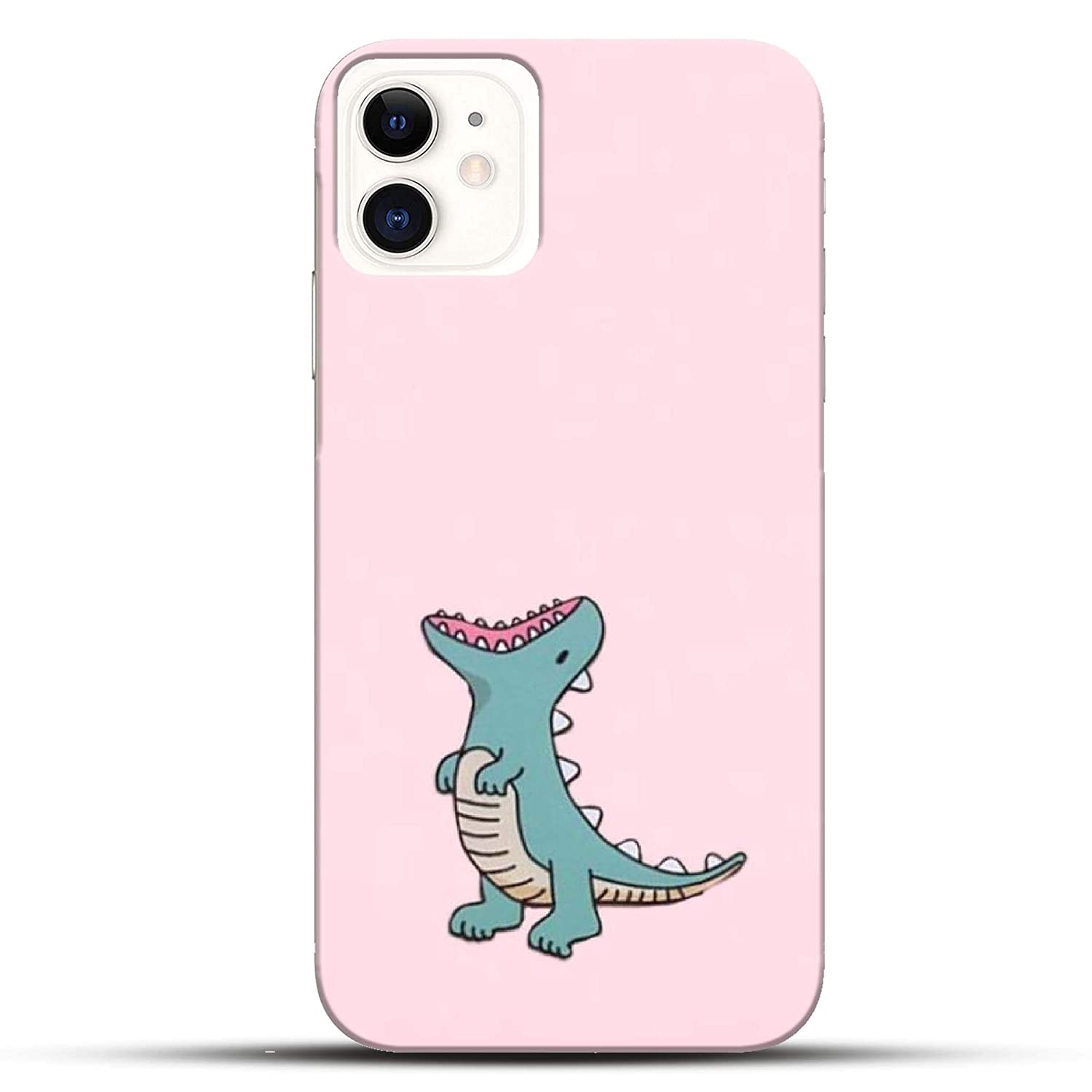 Pikkme Funky Green Dino Cartoon Character Pink Amazon In Electronics