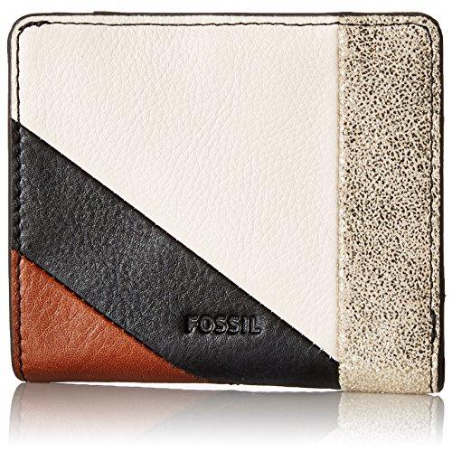 T NEUTRAL STRIPE Wallet, METALLIC COMBO, One Size (Neutral Stripe)