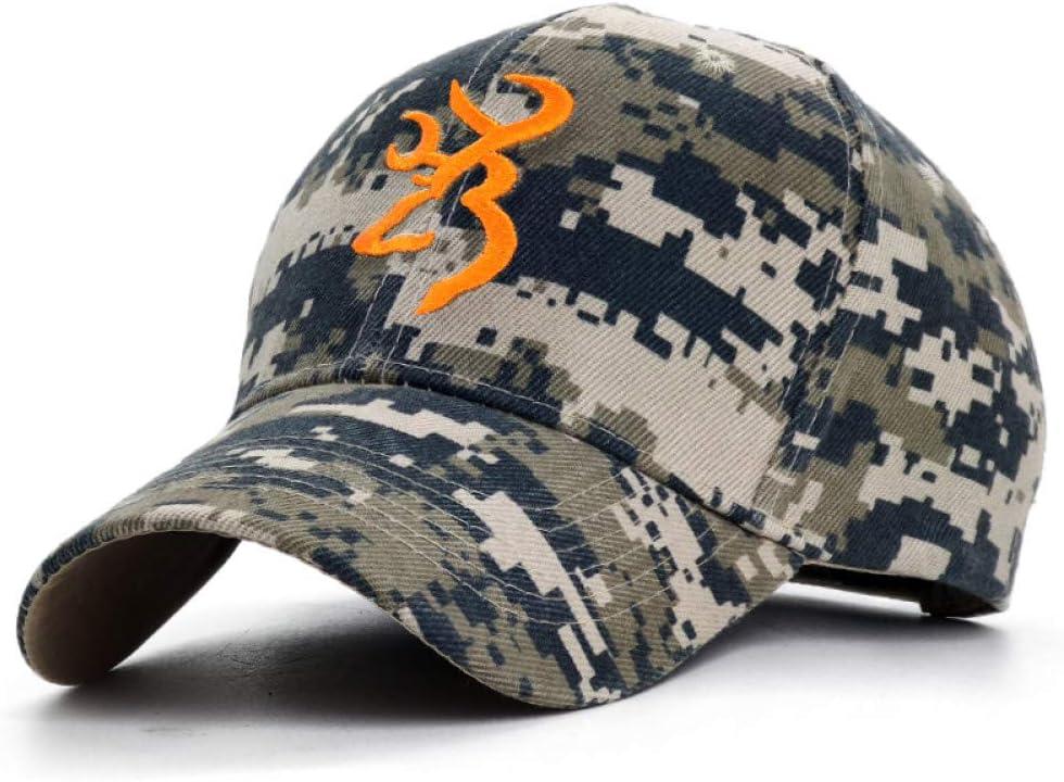 JJJRMP Logotipo Bordado Gorra De B/éisbol De Camuflaje Botines De Caza Swag Deporte Al Aire Libre Tactical Snapback Sombrero para Hombres Mujeres Pesca Sombreros De Pap/á