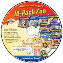 PC Treasures 50228 High Achievers Junior Professor, 10-Pack