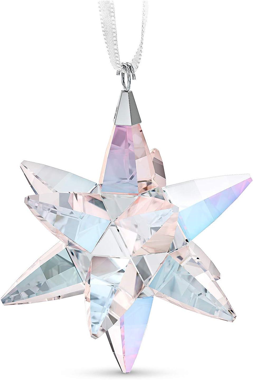 Swarovski Shimmer Star Ornament, Medium