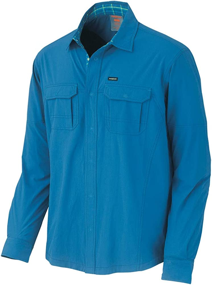 Trangoworld Yapura Camisa, Hombre, Azul Oscuro, S: Amazon.es: Ropa y accesorios