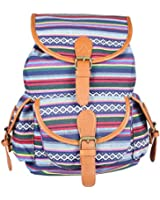 Deercon Girls Travel Bag Satchel Backpack Rucksack Shoulder School Bag(4 colors)