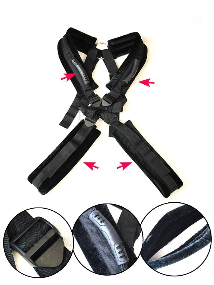Orino Sex™ Romantic Fantasy Swing Sling Spreader Kit with Fleece-Crazy Sexual Experience Sm Toys (A) by Orino Sex