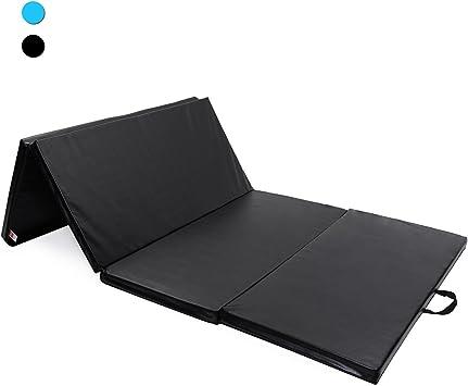 Ise 240x120x5cm Tapis De Sol Fitness Pliable Portable Tapis De