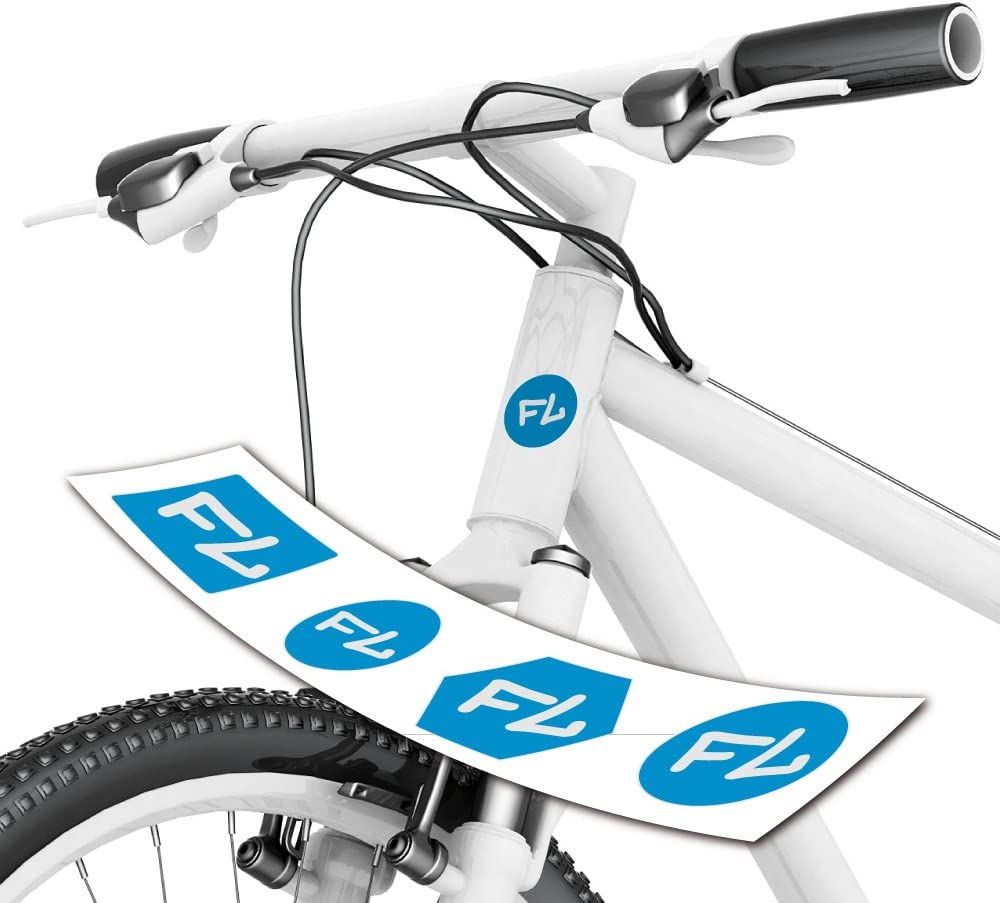 Style4bike Fahrradaufkleber Initalen Für Steuerrohr Toller Aufkleber Mit Initale Ihres Namens S4b0205 Sport Freizeit