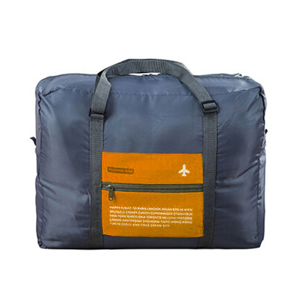 INVODA Foldable Travel Bag Luggage for Sports Gym Water Resistant Nylon Duffle