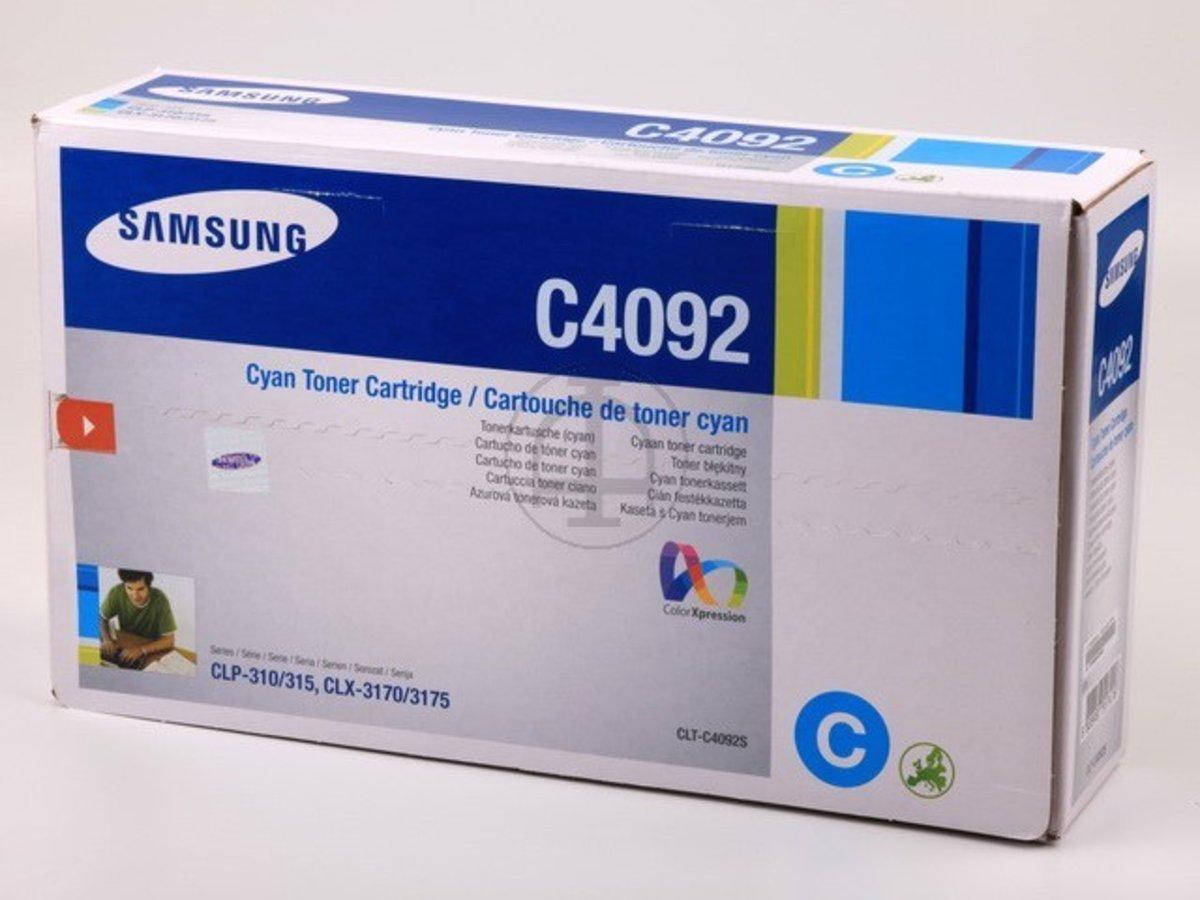 Samsung CLX-3175 FN (C4092 / CLT-C 4092 S/ELS) - original - Toner ...