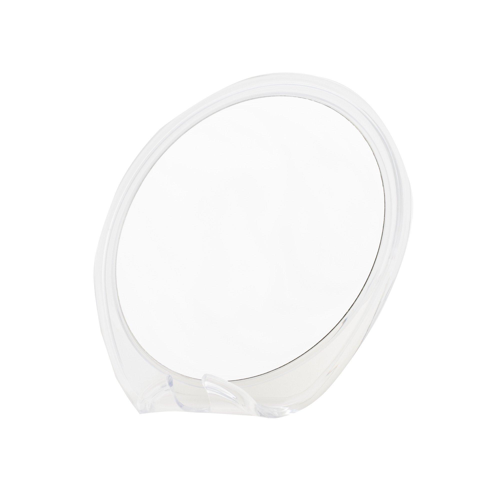 Danielle Super Suction Fogless Shaving Mirror with Razor Stand, 5X Magnification