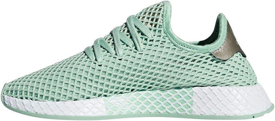 adidas Originals Deerupt Runner - Zapatillas deportivas para mujer, color verde: Amazon.es: Zapatos y complementos