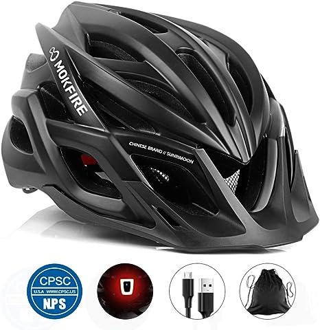 Unisex 57-62CM Adjustable Cycling Helmet Bicycle Bike Safety Helmet with Visor