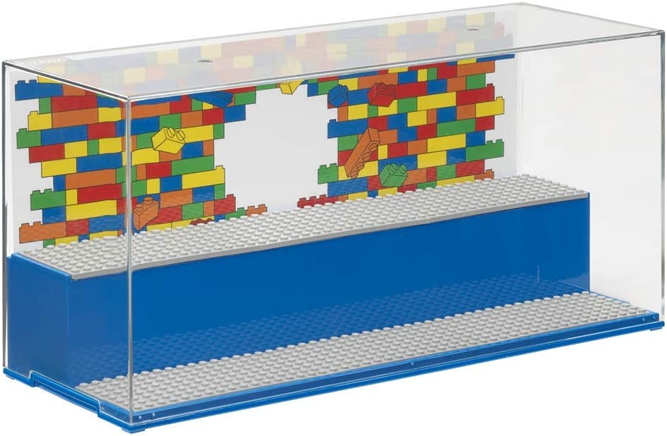Room Copenhagen 40700002 Lego Play & Display Case-Iconic, Blue