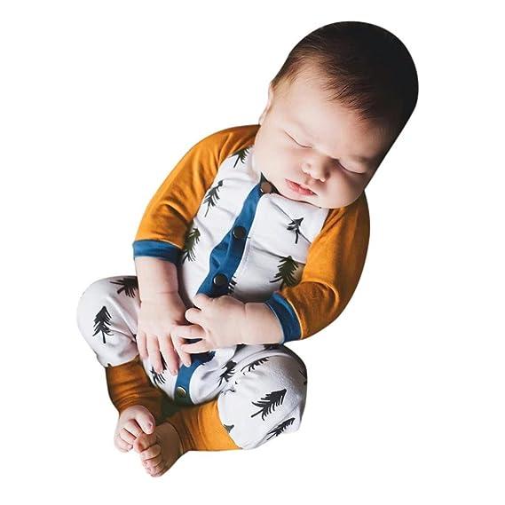K-youth® Niño Bebe Monos, Árboles Impresión Ropa Bebe Recien Nacido ...