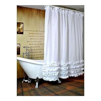 Doublure Imperméable rideau de douche en tissu de Salle de Bain ...